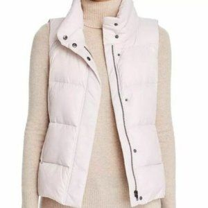 NWT Eileen Fisher Down Puffer Vest in Ceramic